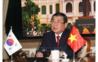 Ho Chi Minh City, RoK's Jeollabuk province eye cooperation in startup, high-tech agriculture