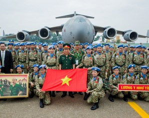 Army's participation in UN peacekeeping operations helps promote Vietnam's stature