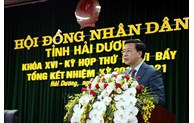 Mr. Pham Xuan Thang elected as Chairman of Hai Duong People's Council