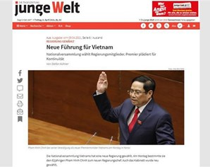 German media spotlights Vietnam's new leadership