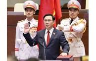 Cambodian NA President congratulates new Vietnamese NA Chairman