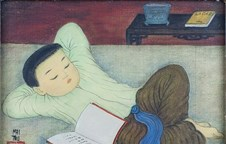 Over 30 artworks by Vietnamese painter on display in France