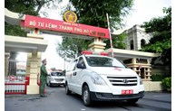 Handing over 30 ambulances to Ho Chi Minh City for fight against COVID-19
