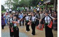Thai ethnic cultural space at Vietnam National Village for Ethnic Culture and Tourism