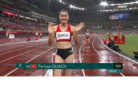 Runner Quach Thi Lan ends Olympic journey
