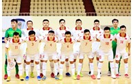 Vietnam targets 1/8 round in FIFA Futsal World Cup 2021
