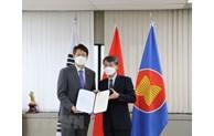 RoK city sends 5,000 COVID-19 rapid test kits to Vietnam