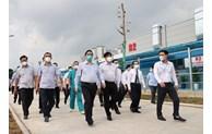 PM inspects COVID-19 prevention, control in Hanoi