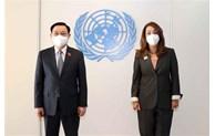 Top legislator hails UN
