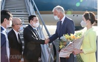 NA Chairman arrives in Brussels, beginning working visit to EP, Belgium
