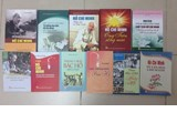 Introducing books about President Ho Chi Minh