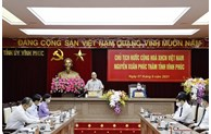 President lauds Vinh Phuc for anti-pandemic efforts