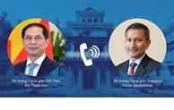 Vietnam, Singapore eye stronger cooperation in different spheres