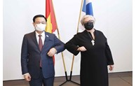 Top Vietnamese, Finnish legislators hold talks