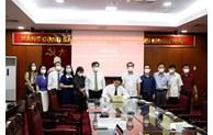 CPV, Ha Giang seek cooperation in communication work