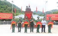 """Lang Son inaugurates """"Uncle Ho with Border Guard soldiers"""" monument"""