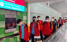Vietnam arrives in UAE to get ready for match against China