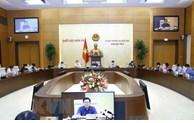 Legislators debate draft resolutions on development of Hai Phong, Nghe An, Thua Thien-Hue