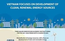Vietnam focuses on development of clean, renewal energy