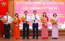 Khanh Hoa Party Committee organizes contest on studying and following President Ho Chi Minh's example