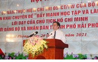 Hai Phong praises over 160 typical examples in studying and following Uncle Ho