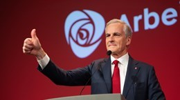 PM congratulates newly-elected Norwegian counterpart