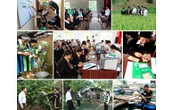 Linking social policy credit with support for science and technology transfer, vocational training