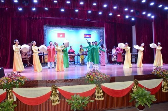 Ouverture de la Semaine de la culture du Vietnam au Cambodge