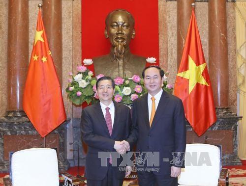Le président Trân Dai Quang reçoit le ministre chinois de la Sécurité publique