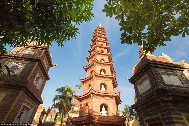 La plus ancienne pagode de Hanoï parmi les plus belles du monde