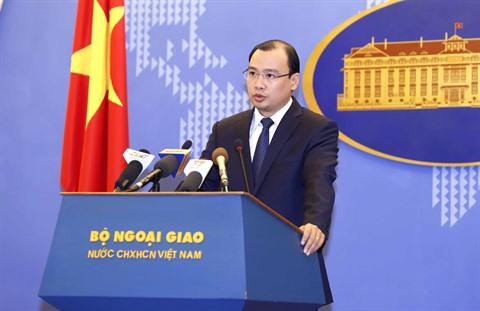 La Chine doit mettre fin aux actes violant la souveraineté du Vietnam sur l