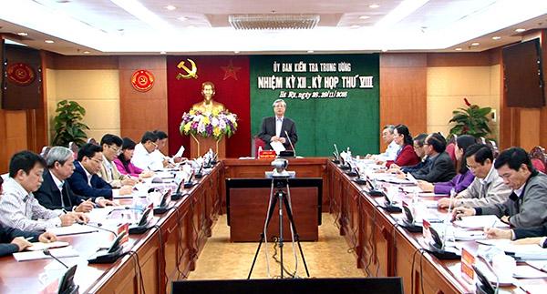La Commission d'inspection centrale du PCV informe des résultats de sa 8e réunion