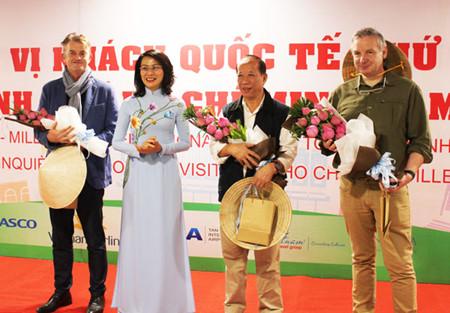 Ho Chi Minh-ville accueille son 5 millionnième touriste étranger