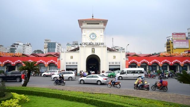 Marché Bên Thành - Symbole de Hô Chi Minh-Ville