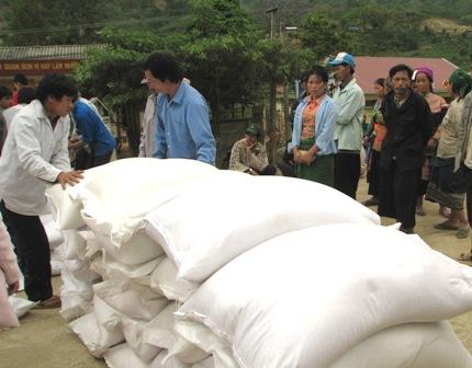 Têt lunaire 2017: plus de 1.100 tonnes de riz pour Gia Lai et Dak Lak
