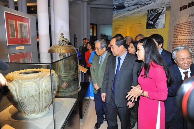Dix-huit trésors nationaux exposés pour la première fois