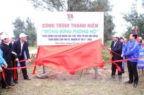 Le vice-PM Truong Hoa Binh à la Fête de la plantation d