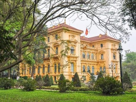 Le palais présidentiel de Hanoi parmi les meilleurs palais du monde