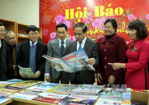 Foire du printemps de la presse 2017 à Tuyen Quang