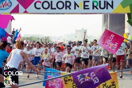 """Participez à la """"Course des couleurs"""" 2017"""