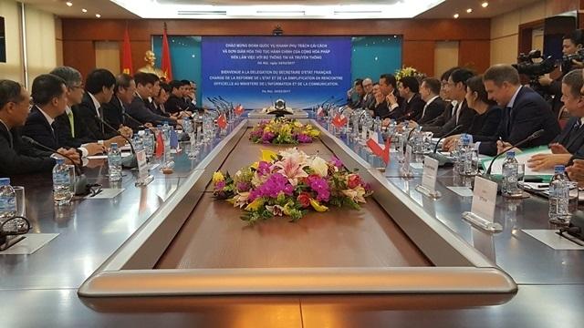 Vietnam - France: Vers une coopération efficace dans l'édification du e-gouvernement