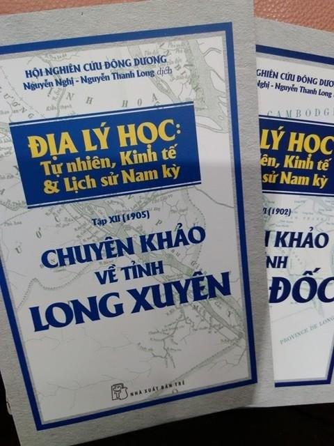 Sortie d'anciennes monographies sur les territoires du Sud du Vietnam