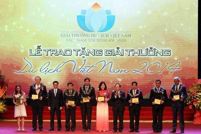 Prix du tourisme du Vietnam 2017