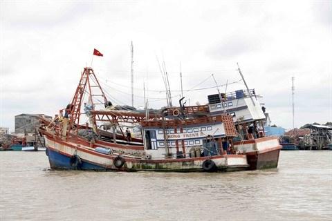 Le gouvernement aide les pêcheurs à construire des navires de forte puissance