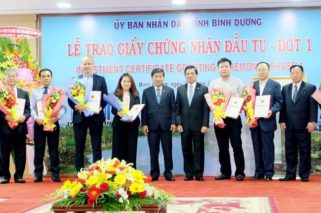 Binh Duong en tête du pays dans l'attrait des capitaux étrangers