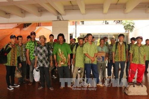 L'Indonésie renvoie des pêcheurs vietnamiens dans leur pays