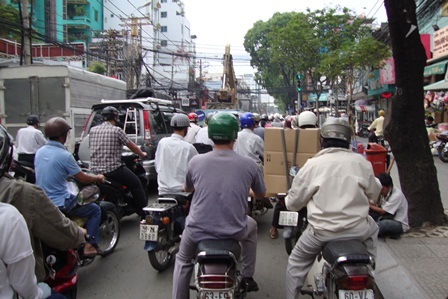 Ho Chi Minh-Ville: Traiter 37 points noirs de la circulation