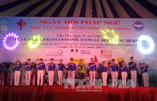 Journée de la Francophonie du delta du Mékong à Can Tho