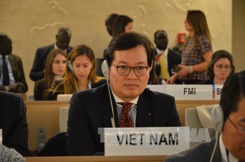 Le Vietnam à la 34e session du Conseil des droits de l