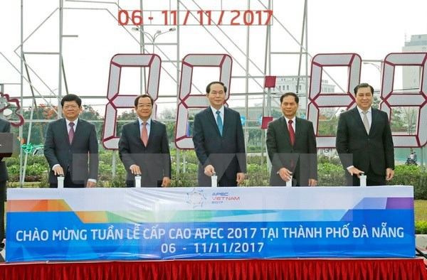 Le président inspecte les préparatifs de la Semaine des dirigeants de l'APEC